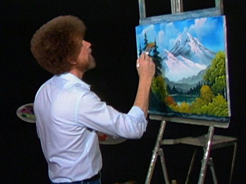 Towering Peaks (Of The Bob Joy Ross Painting)