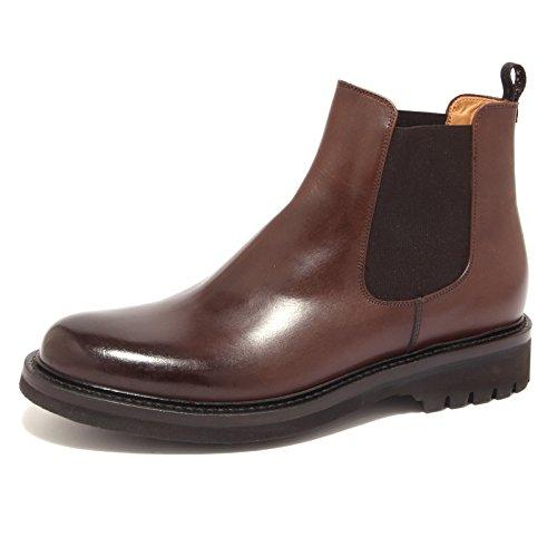 BARRACUDA beatles scarpa shoe marrone 9551R uomo Marrone boot men qdaIEX