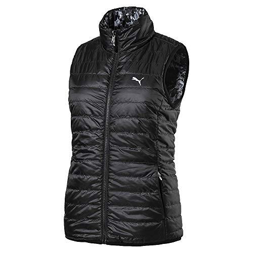 (Puma Golf Women's 2019 Pwrwarm Reversible Vest, Puma Black, x Large)