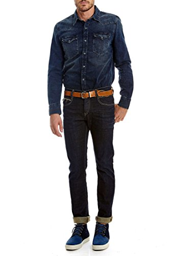 jeans lee cooper longjohn 6413 dann denim ze leg 34 bleu