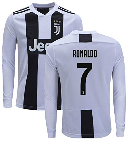 quality design 0a64f f01e0 Cristiano Ronaldo Juventus #7 Youth Soccer Jersey Home/Away ...