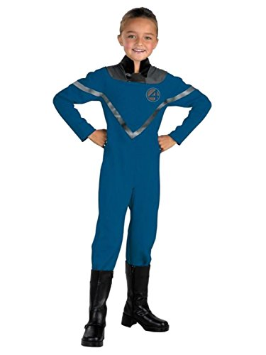 [Fantastic Four Girls The Invisible Woman Halloween Costume] (Primrose Halloween Costume)