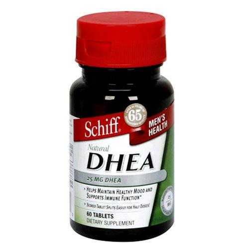Schiff DHEA, 25 mg, comprimés, 60