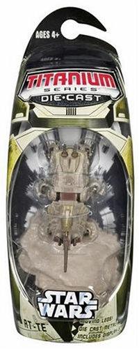 Amazon.com: Hasbro Titanium Series Star Wars 3 Inch Vehicles AT-TE: Toys & Games