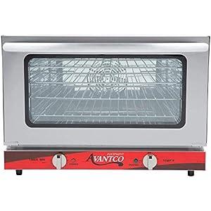 Avantco CO-16 Half Size Countertop Convection Oven, 1.5 Cu. Ft. – 120V, 1600W
