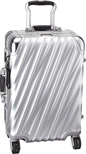 Tumi Men's 19 Degree Aluminum International Carry On, Silver, One Size