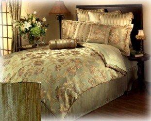 Amazon.com: Chris Madden Darjel California King Bedskirt ...