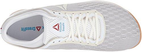 Nano Red Excellent Gum White Reebok Blue 0 Trainer Men's Flexweave Cross White CROSSFIT 8 Classic 177xqp6PEw