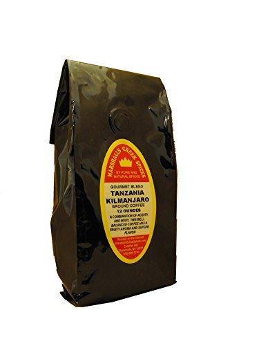 Marshalls Creek Gourmet Ground Coffee, Tanzania Kilimanjaro. 12 Ounce Bag