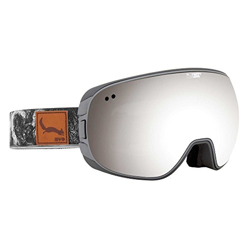 SPY Optic Doom Danny Larsen Snow Goggles | Wide Field of View Ski, Snowboard or Snowmobile Goggle | Two Lenses with Patented Happy Lens - Lens Happy Goggles Spy
