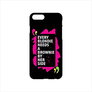 Fmstyles - iPhone 7 Plus Mobile Case - Every blondie needs a brownie