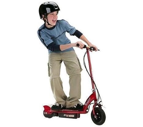 RAZOR Patinete eléctrico E100 rojo + Mini aspirador: Henry ...