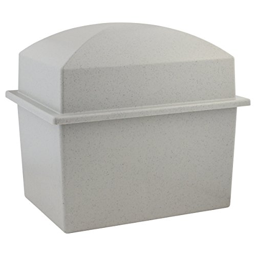 Silverlight Urns Basic Urn Vault Double, Companion Urn, 16.5 x 12 x 14.5 inches, Holds 2 Urns for Burial (Vaults For Urns)