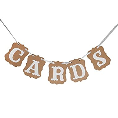 MagicW Cards Bunting Wedding Banner Wedding Party Banner Garland Sign Photo Props Hanging D¨¦cor Wedding Party Decoration