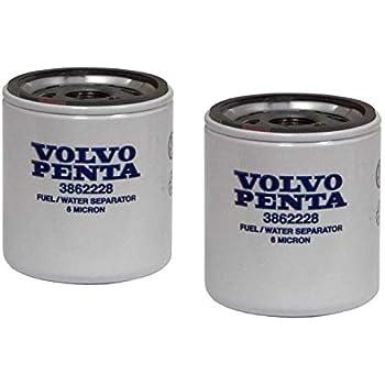 Volvo Penta Stern Drive New OEM Fuel Filter 3862228 SX 3.0L,4.3,5.0,5.7,5.8,8.2L