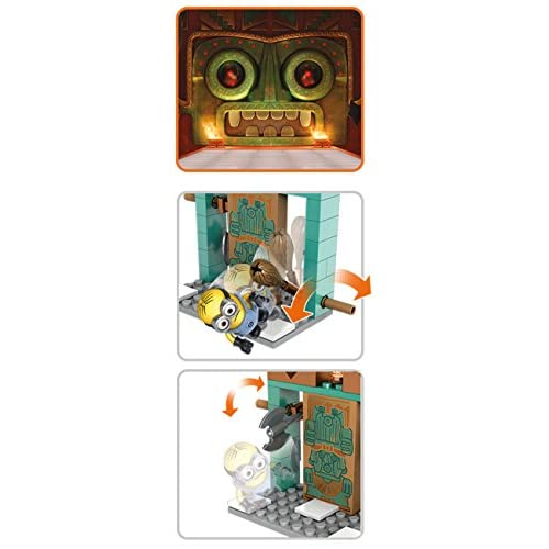 Mega CONSTRUX Despicable me Lair break en cuisine