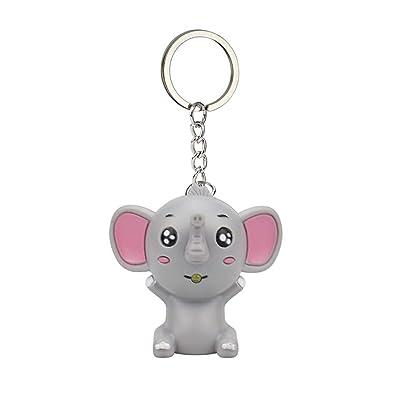 Firally Llavero Juguete pequeño Elefante Incandescente Niño ...