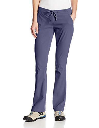 Columbia Women's Anytime Outdoor Boot Cut Pant Pants, nocturnal, 12xRegular