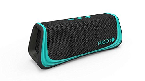 Fugoo Style Bluetooth Wireless Speaker 2 Rugged Sport model is snow proof, sand proof, and waterproof to 3 feet for 30 minutes Built-in microphone for full-duplex speakerphone, Siri, and Google Now capability Six drivers on four sides for a 360-degree sweet spot and incredible 95dB SPL-A volume