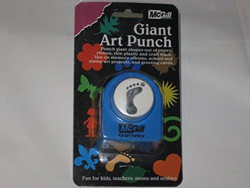 Mcgill Giant Art Punch Foot Print
