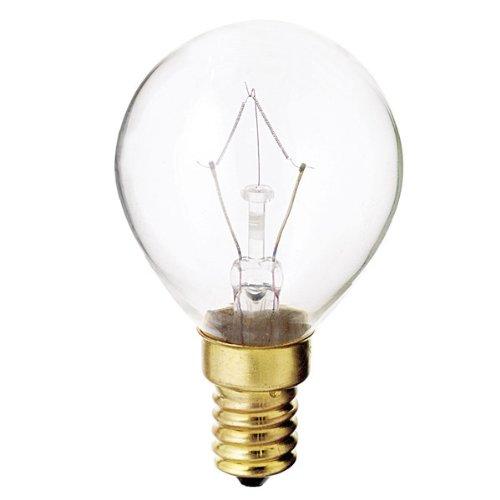 Satco S3397 130V E14 Euro Base 40-Watt G14 Light Bulb,, used for sale  Delivered anywhere in USA