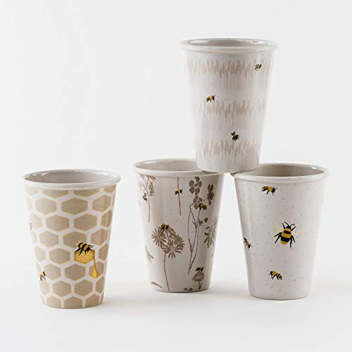 Busy Bees Melamine Cups - Set of 4