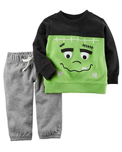 Carter's Baby 2 Piece Frankenstein Top And Pants Set 3 Months ()