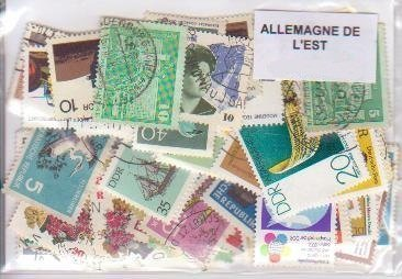 20 East Germany All Different Stamps