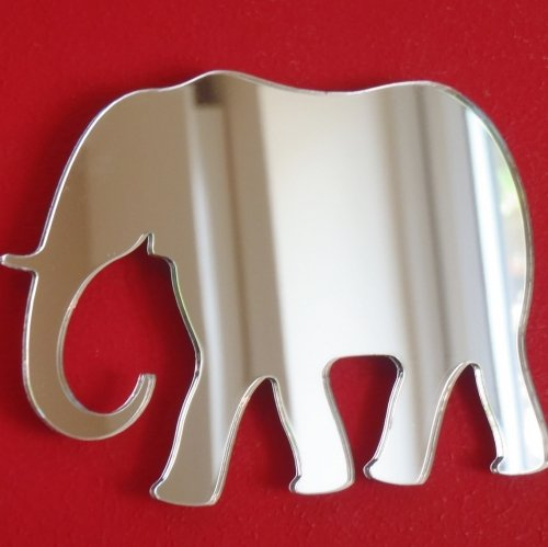Elephant Mirror - 20cm x 14cm