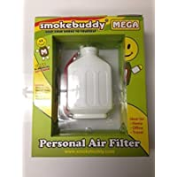 Smoke Buddy Mega White Whole Box of 12 Personal Air Filter / Purifier Brand New with Free Im Baked Bro & Doob Tubes Sticker