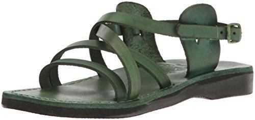Jerusalem Sandals Women's Tzippora Gladiator Green