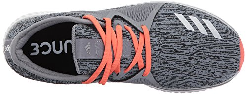 Adidas Performance Women's Edge Lux 2 Running Shoe, Grey Three/Metallic Silver/Easy Coral, 8 Medium US