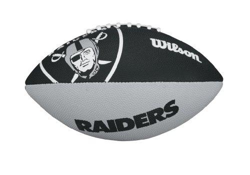 (Wilson NFL Junior Team Logo Football (Oakland Raiders))
