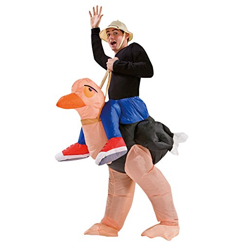 Totally Ghoul Adult Inflatable Ollie Ostrich Halloween Costume -