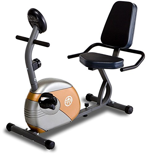 Marcy Recumbent Exercise Bike with Resistance ME-709 by Marcy (Image #1)'