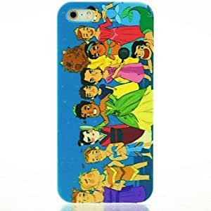 SOL Fairy Kingdom Pattern Hard Case for iPhone 5/5S
