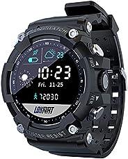 heyaa Relógio Smart Watch,LOKMAT Attack 2 Fitness Tracker Relógios Bluetooth Monitor de freqüência cardíaca Re