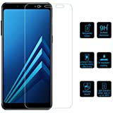 Clorox Tempered Glass with Alcahol Wet Cloth Dry Cloth, Free Bubble,Anti Explosion,Pro+ 2.5D Pro Tempered Glass for Samsung Galaxy ON8 (2018)