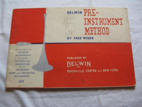 PRE-INSTRUMENT METHOD FRED WEBER 1950 SHEET MUSIC FOLDER 351 SHEET MUSIC