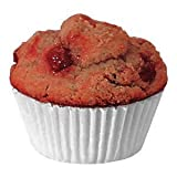 HOFFMASTER - Fluted Bake Cups, 1 1/8'' X 1 1/8'' X 1 3/4'', White, 500/pack, 20 Packs/carton ( HFM610020 ) ( 610020 )