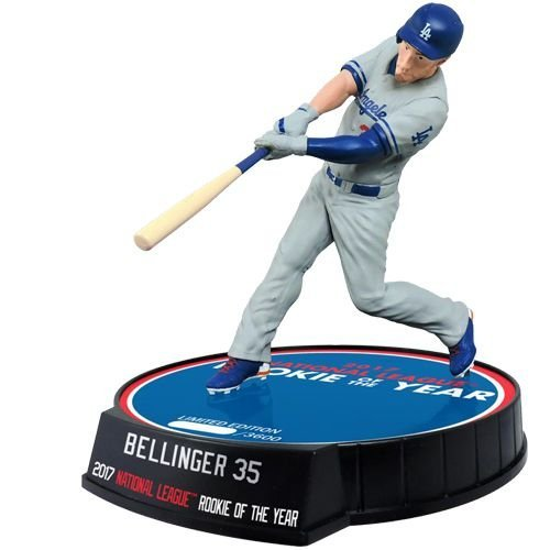 "LOS ANGELES DODGERS - CODY BELLINGER - NATIONAL LEAGUE ROOKIE OF THE YEAR - 6"" FIGURE"