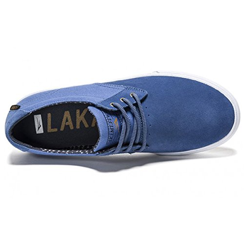 Lakai Calzado MJ (Marc Johnson) Skate Zapatos Blue Suede