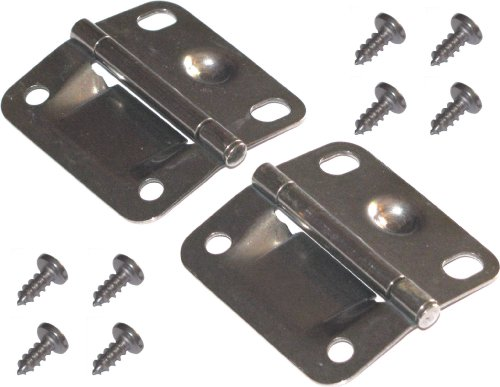 Coleman Cooler Stainless Steel Hinges and Screws (Screw Top Cooler)