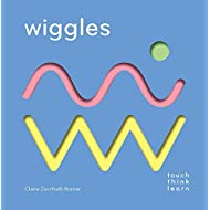 TouchThinkLearn: Wiggles: (Childrens Books Ages 1-3, Interactive Books for Toddlers, Board Books for Toddlers)