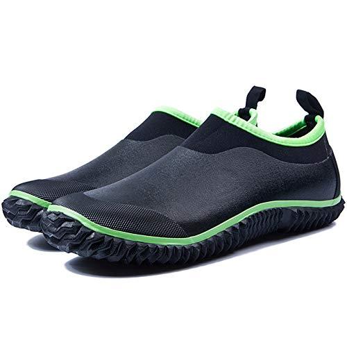 Water Neoprene Shoes Green Boots 6 UK For Water Size Rubber Working Rain Liyanqin Green Rain Washing Color Shoes Men's Proof Garen Auto Women nqIBEnxRw8