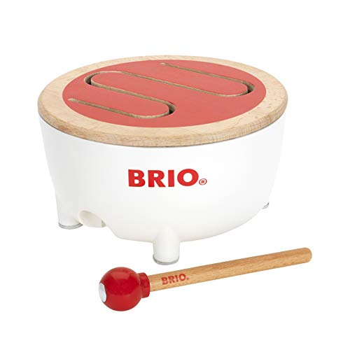 BRIO World - 30181 Musical Drum | Fun Baby Toy for Kids Ages 18 Months and Up