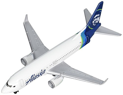 Daron Alaska Airlines Single Plane - Airline Diecast