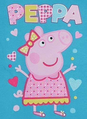 Peppa Pig Maglietta a Maniche Lunghe in Cotone