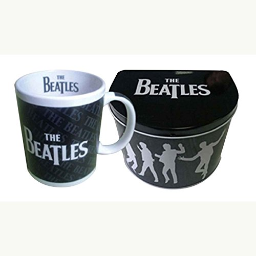 The Beatles Drop T Logo new official Mug in presentation tin ()