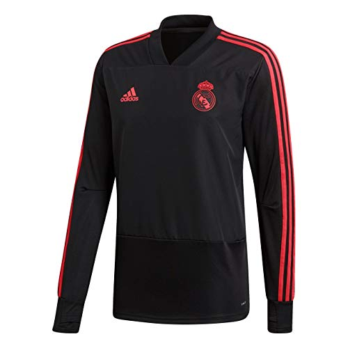 19 Training Madrid Noir rouge Adidas Real Top Corail Eu 2018 YvvqB4w